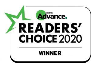 Barrie Winner Readers Choice 2019