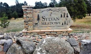 custom etched monument sign