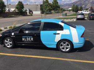 attractive partial car wraps