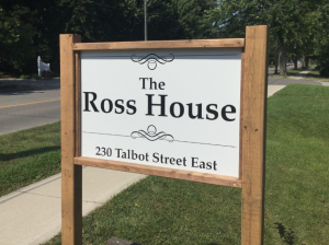 Custom Post & Panel Outdoor Sign