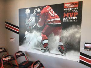Ontario Sign Company indoor lobby wall mural waiting room vinyl 300x225 300x225